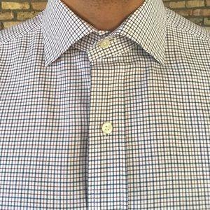 Polo Ralph Lauren Regent Micro Plaid Dress Shirt